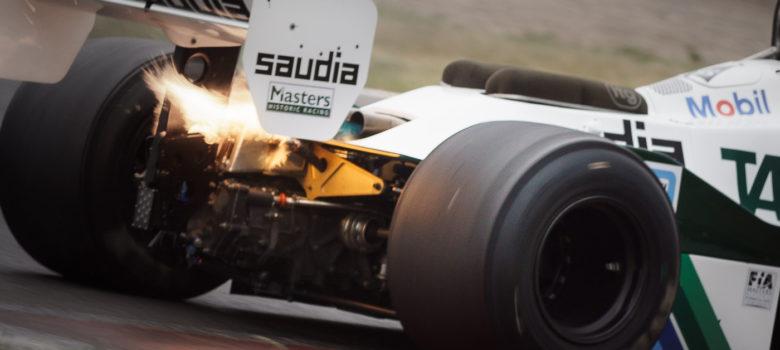 Oheň – #6 PADMORE Nick, GB, Williams FW07C, Head, White/Green, 1981, 3000 ccm