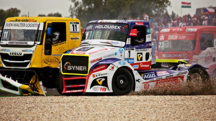 #1 Adam Lacko (CZE), Buggyra International Racing System (CZE), Freightliner, FIA ETRC Slovakiaring