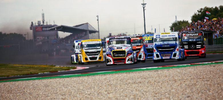 Startovní tlačenice, FIA ETRC Slovakiaring