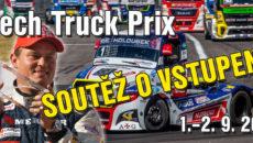 Výsledky soutěže ovstupenky naCzech Truck Prix 2018