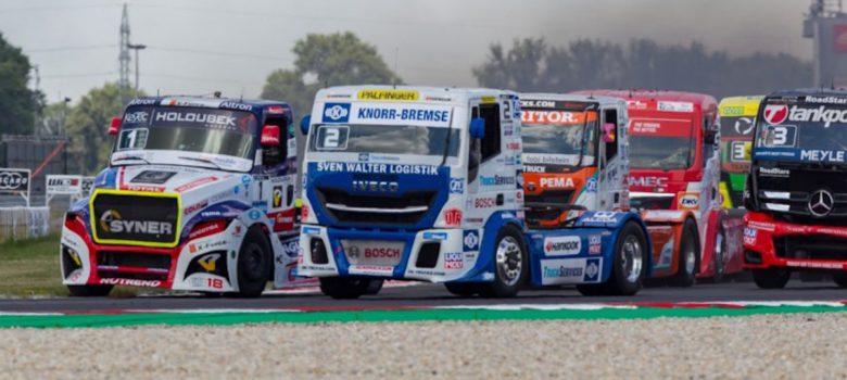 #2 Jochen Hahn (DEU), IVECO, FIA ETRC 2018 Slovakiaring (foto: Richard Kienberger)