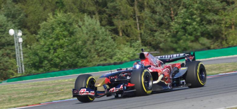 #1 Ingo Gerstl, AUT, Top Speed, Toro Rosso STR1, F1, Cosworth 3.0 V10, OPEN, Masaryk Racing Days 2018 (foto: Milan Spurný)