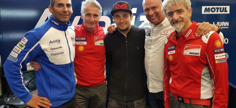Karel Abraham pojede v sezoně 2019 za tým Reale Avintia Racing v královské kubatuře MotoGP