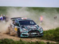 Roman Odložilík a Martin Tureček na voze Ford Fiesta R5 bude první startovní posádka letošní Rallye Jeseníky.