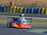 #2 Adam Kout (MS Kart/DEA) na trati v Le Mans (foto: Vratislav Ondráček)