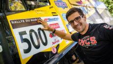 #500 Martin Macík s LIAZem týmu Big Shock Racing, Rallye du Maroc 2018