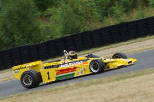Bývalý vůz Emersona Fittipaldiho – dnes ho sedlá #1 SMITH-HILLIARD Max, GB, Copersucar F5A, 1978, 3000 ccm (foto Milan Spurný)
