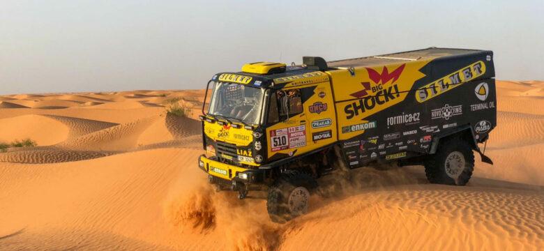 Martin Macík se svým kamionem LIAZ, Big Shock Racing