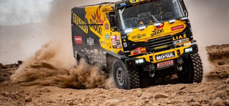 #504 Martin Macík na LIAZu týmu Big Shock Racing