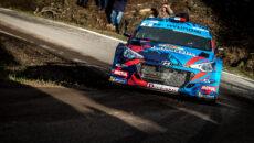 #06 SARRAZIN Stephane, Hyundai I20, v akci během francouzského šampionátu v rallye 2018, Rallye du Var 22.–25. listopadu v Sainte Maxime ve Francii - foto Thomas Fenetre / DPPI