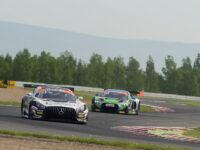 #84 AutoArenA Motorsport, DEU, Mercedes-AMG GT3, Patrick Assenheimer (DEU), Clemens Schmid (DEU), Most 2018 (foto: Milan Spurný)
