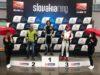 Stupně vítězů Slovakiaring Carboniacup 2019 foto Lutopol Racing