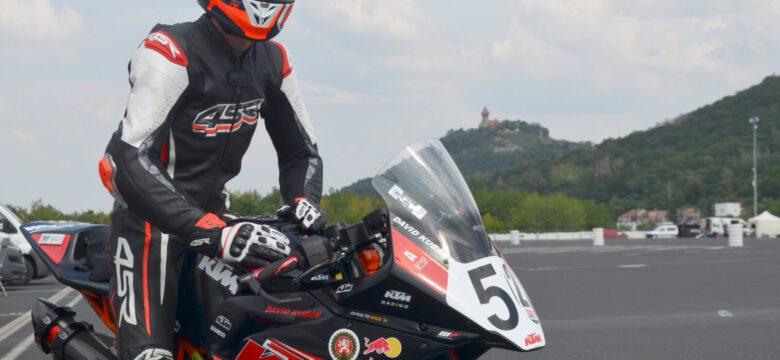 David Kubáň vMostě trénoval nasrpnový závod IDM