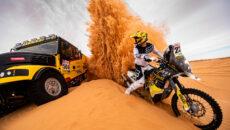 Jan Brabec ztýmu Big Shock Racing zahájil přípravy na Dakar 2020.