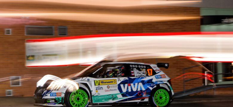 #17 Kostka - Kučera (CZ), Škoda Fabia R5 evo, Barum Czech Rally Zlín 2019