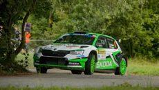#4 Kopecký - Dresler (CZ), Škoda Fabia R5 evo, Barum Czech Rally Zlín 2019