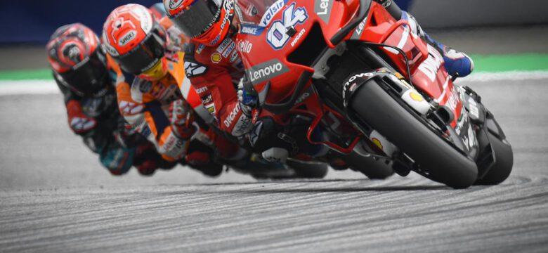 Andrea Dovizioso, Marc Marquez, Fabio Quartararo, myWorld Motorrad Grand Prix Rakouska