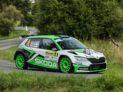 #4 Kopecký - Dresler (CZ), Škoda Fabia R5 evo, Barum Czech Rally Zlín 2019 (foto: Pavel Pustějovský)