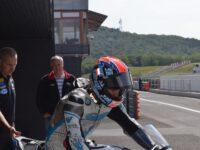 Test týmu FUNY GASTRO BMW MOTORRAD Mercury Racing na mosteckém autodromu