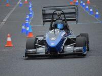 Mezinárodní závody The Most Formula Student hostil areál polygonu mosteckého autodromu.