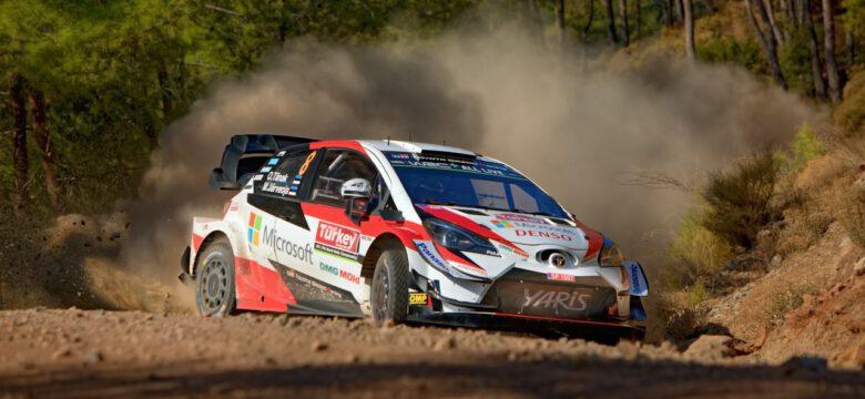 #8 Tänak - Järveoja, Toyota Gazoo Racing WRT, Toyota Yaris WRC (foto: Pavel Pustějovský)
