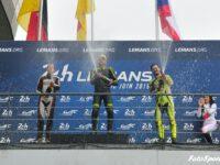Pódium druhého závodu, zleva: Andreas Jost, Peter Elkmann a Adam Kout (foto: Vratislav Ondráček)