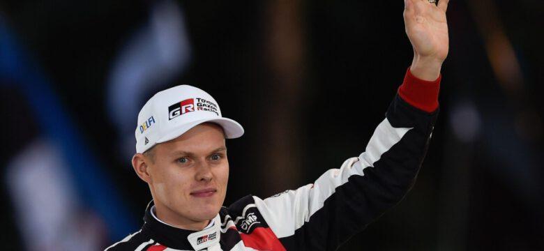 Ott Tänak, mistr světa 2019 v automobilových soutěžích, foto: AFP/Scanpix