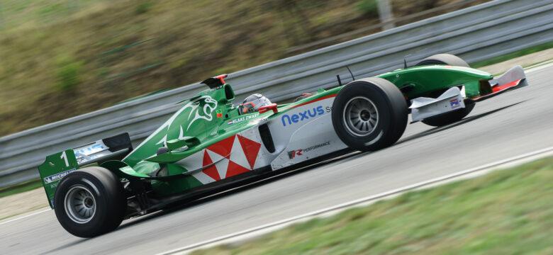 #1 Klaas Zwart (NL), Team Ascari, Jaguar R5, F1, Cosworth 3.0 V10