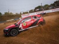 #25 Tamara Molinaro (ITA), TitansRX Rallycross Europe, Nyriád (HUN), foto: Tuul Spurná