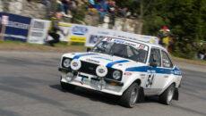 #54 Enge Tomáš, Engová Lucie, CZ/CZ, Ford Escort RS 2000 MKII, 28. Historic Vltava Rallye 2019 (foto: Milan Spurný)