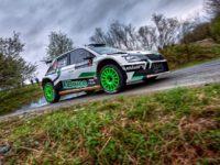 Tarabus Jaromír - Trunkát Daniel,  Škoda Fabia R5, vítěz poháru pořadatele při Rallysprint série 2019