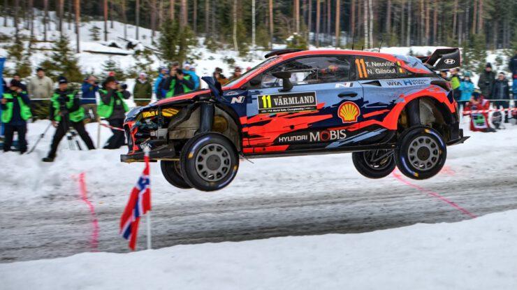 Neuville Thierry - Gilsoul Nicolas, Hyundai i20 Coupe WRC , Rallye Sweden 2019 (foto: Pavel Pustějovský)