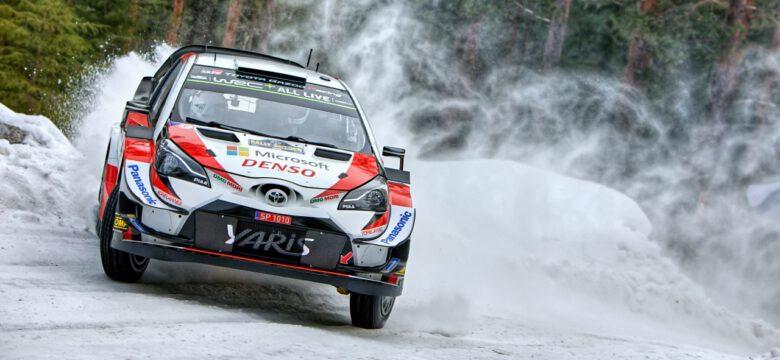 Tänak Ott - Järveoja Martin, Toyota Gazoo Racing WRT - Toyota Yaris WRC, Rallye Sweden 2019 (foto: Pavel Pustějovský)