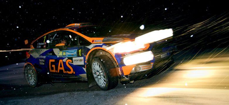 Vítěz Jäner rallye 2020 – #1 Neubauer Hermann, Ettel Bernhard (AUT), Ford Fiesta R5 (foto: Pavel Pustějovský)