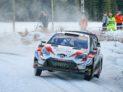 #33 Evans–Martin, GBR, Toyota Yaris WRC, Toyota Gazoo Racing, Švédská rallye 2020 (foto: Tom Banks)