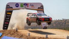 #11 Neuville–Gilsoul, BEL, Hyundai i20 Coupe WRC, Hyundai Shell Mobis WRT, Mexická rallye 2020 (foto: Kamil Mach)
