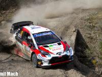 #33 Evans–Martin, GBR, Toyota Yaris WRC, Toyota Gazoo Racing, Mexická rallye 2020 (foto: Kamil Mach)