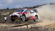#69 Rovanperä–Halttunen, FIN, Toyota Yaris WRC, Toyota Gazoo Racing, Mexická rallye 2020 (foto: Kamil Mach)