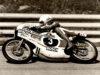Johann Zemsauer na svém vlastním stroji s motorem Rotax o objemu 125 ccm v roce 1973 (foto: Artur Fenzlau)