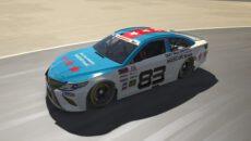 Šmídl vítězstvím vevropské virtuální sérii NASCAR zviditelnil AUTODROM MOST