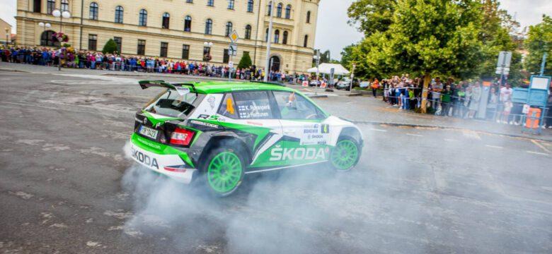 TZ Rallye Bohemia Tomáš Mansfeld