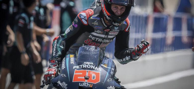 #20 Fabio Quartararo, FRA, Petronas Yamaha SRT, Gran Premio Red Bull de España 2020 (foto: motogp.com)