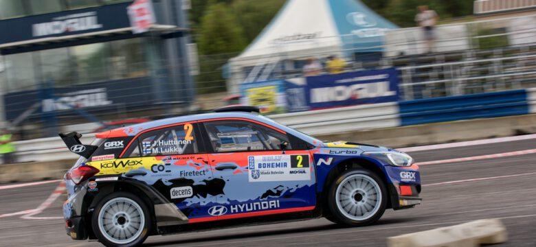 #2 Huttunen Jari,Lukka Mikko, FIN, Hyundai i20 R5, Rally Bohemia 2020 (foto: Pavel Pustějovský)