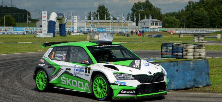 #1 Kopecký Jan, Hloušek Jan, CZ, Škoda Fabia Rally2 evo, Škoda Motorsport, Rally Bohemia 2020