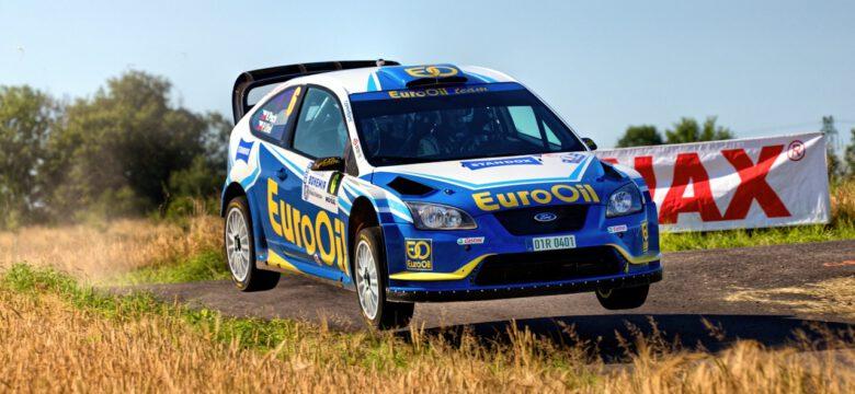 #6 Pech jun. Václav, Uhel Petr, CZ, Ford Focus RS WRC '06, EuroOil Team, Rally Bohemia 2020 (foto: Pavel Pustějovský)