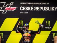 Premiérové vítězství #33 Brand Binder, RSA, Red Bull KTM Factory Racing, KTM, Monster Energy Grand Prix České republiky 2020