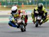 Matyáš Pálka v závodě mistrovství Evropy minibiků na okruhu Adria Raceway Kart (foto týmu)
