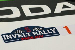 #1 Kopecký Jan, Hloušek Jan, CZ, Škoda Fabia Rally2 evo, Škoda Motorsport, 41. Invelt Rally Pačejov 2020 (foto: Pavel Pustějovský)