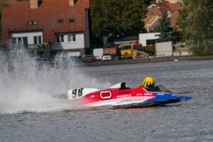 #98 LOUKOTKA David (CZE), 2. závodní jízda F250, UIM – mistrovství světa člunů Jedovnice 2020 (foto: Milan Spurný)